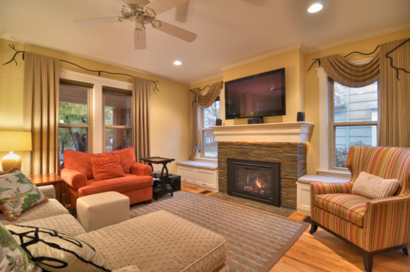 A New Living Room Interior Design in Grandview Ohio